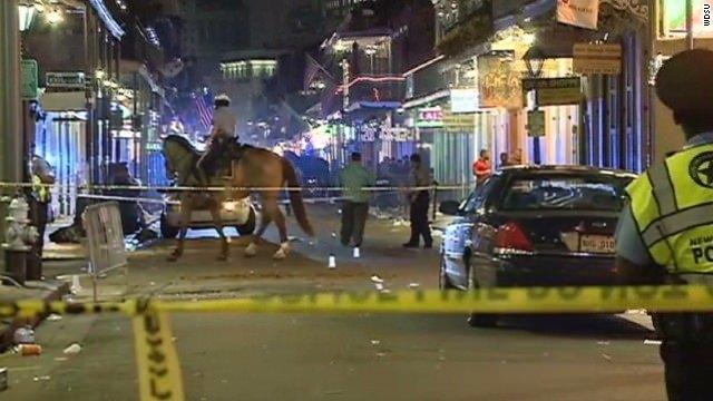 Gunfire injures 9 at tourist site