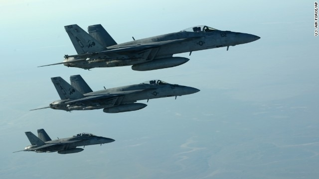 Coalition airstrikes shift to ISIS 'capital'