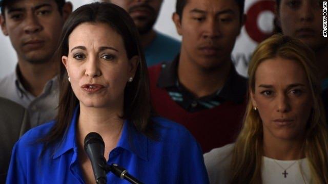 """María Corina Machado: """"El Gobierno de Venezuela me cobra por decir la verdad"""""""