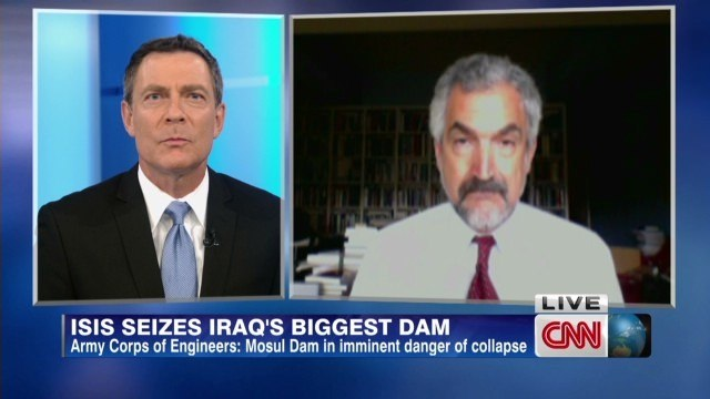 ISIS claims gains and a dam in northern Iraq