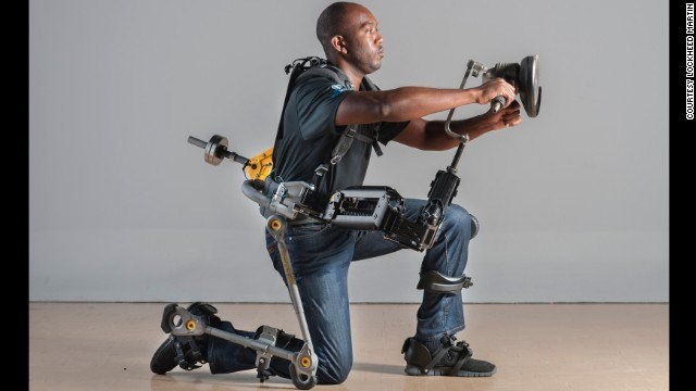 Navy's FORTIS exoskeleton makes workers more productive - CNN.com