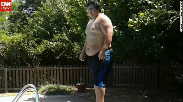 Teen drops nearly 200 pounds
