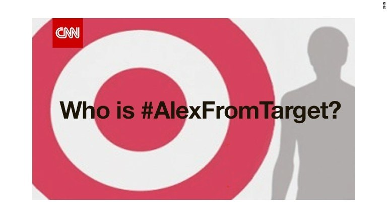 Today's Internet star: Alex from Target