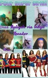 Avatar - Four Super Girls