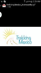 TREKKING MEXICO - cover