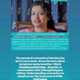 Avatar - Dr.Amrita  Basu (Misra):Healthwealthbridge