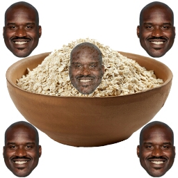 Shaquille Oatmeal - cover
