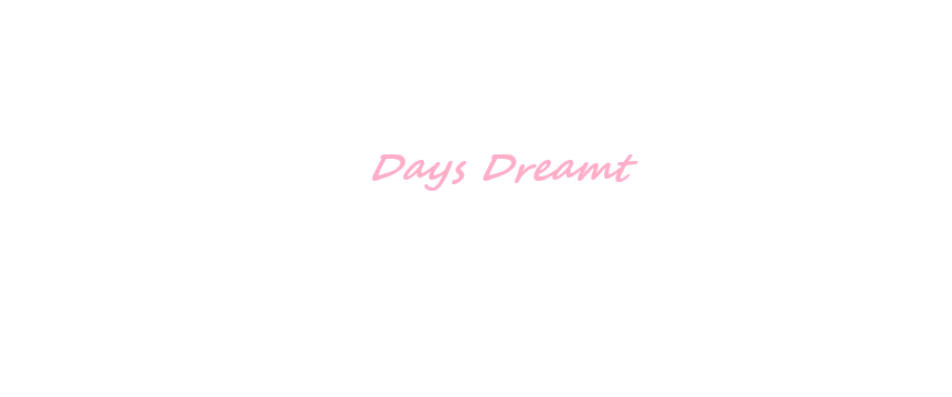 Days Dreamt - cover