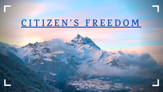 Citizen's Freedom - cover