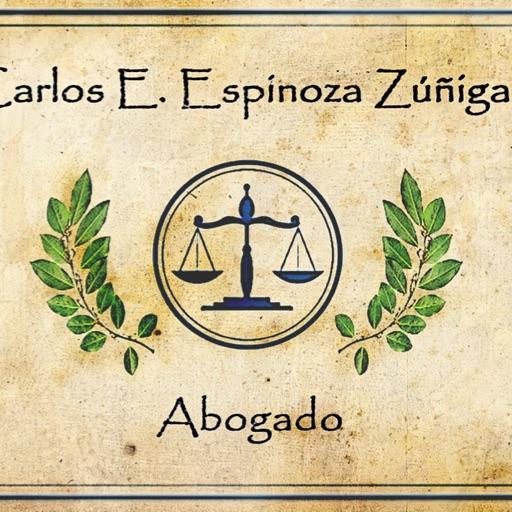 Abogado Carlos Espinoza Zúñiga - cover