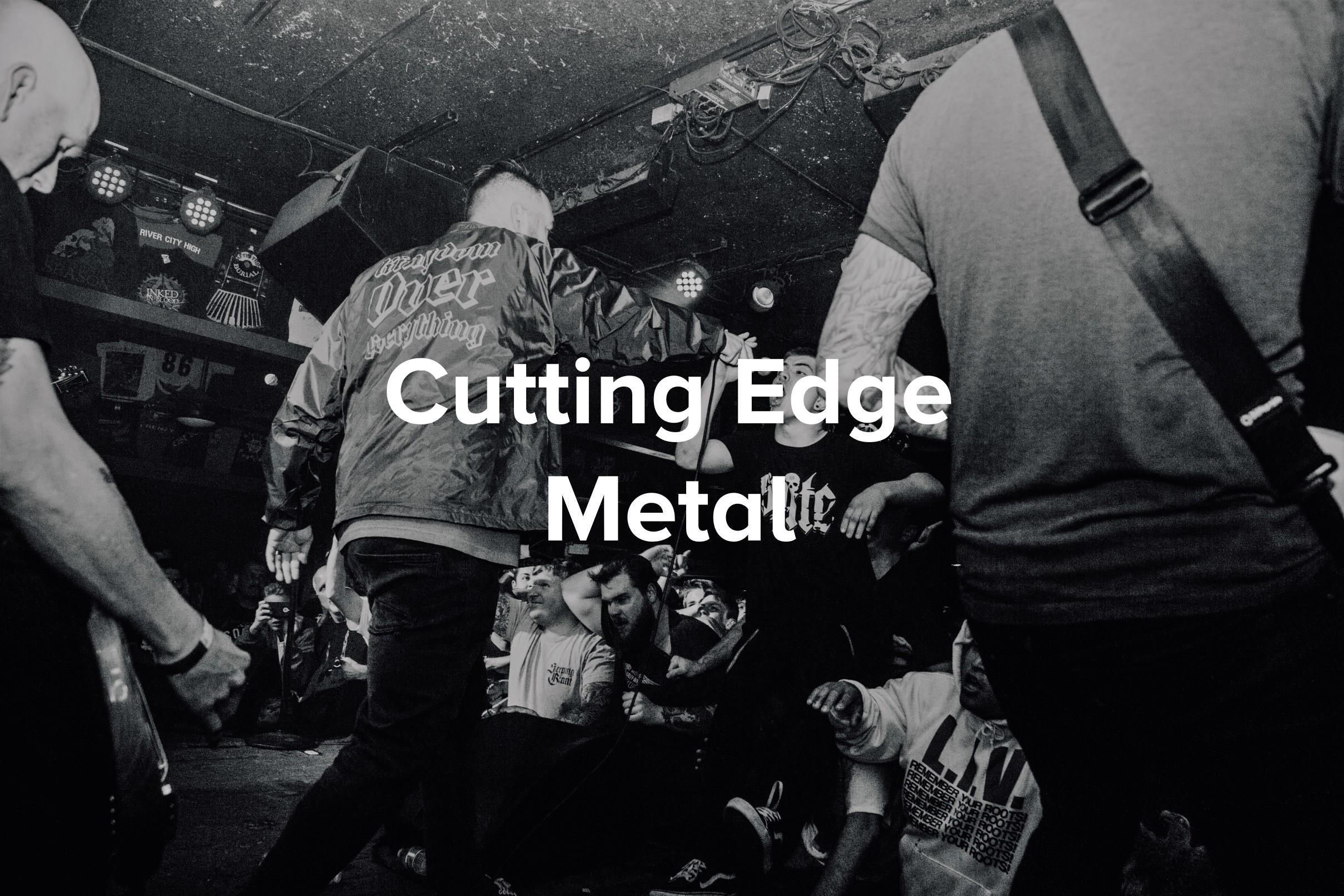 Avatar - Cutting Edge Metal