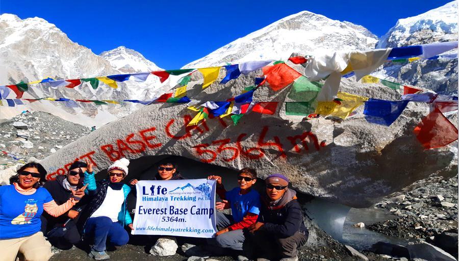 Life Himalaya Trekking - cover