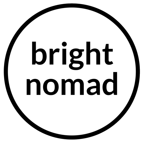 Bright Nomad - cover