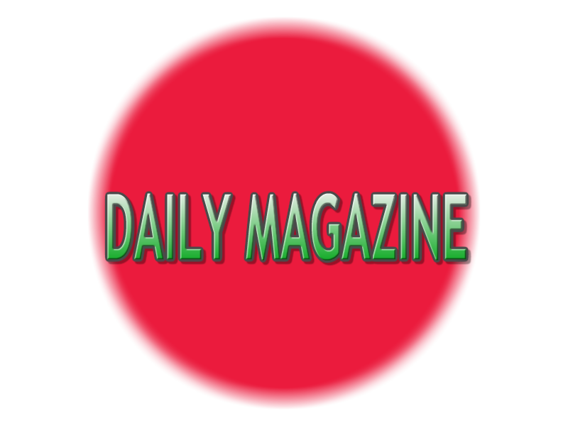 Daily magazine - cover