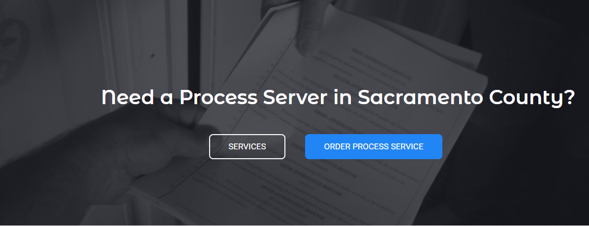 Avatar - Process Server Sacramento County