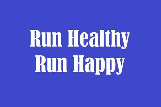 Run Healthy Run Happy - cover