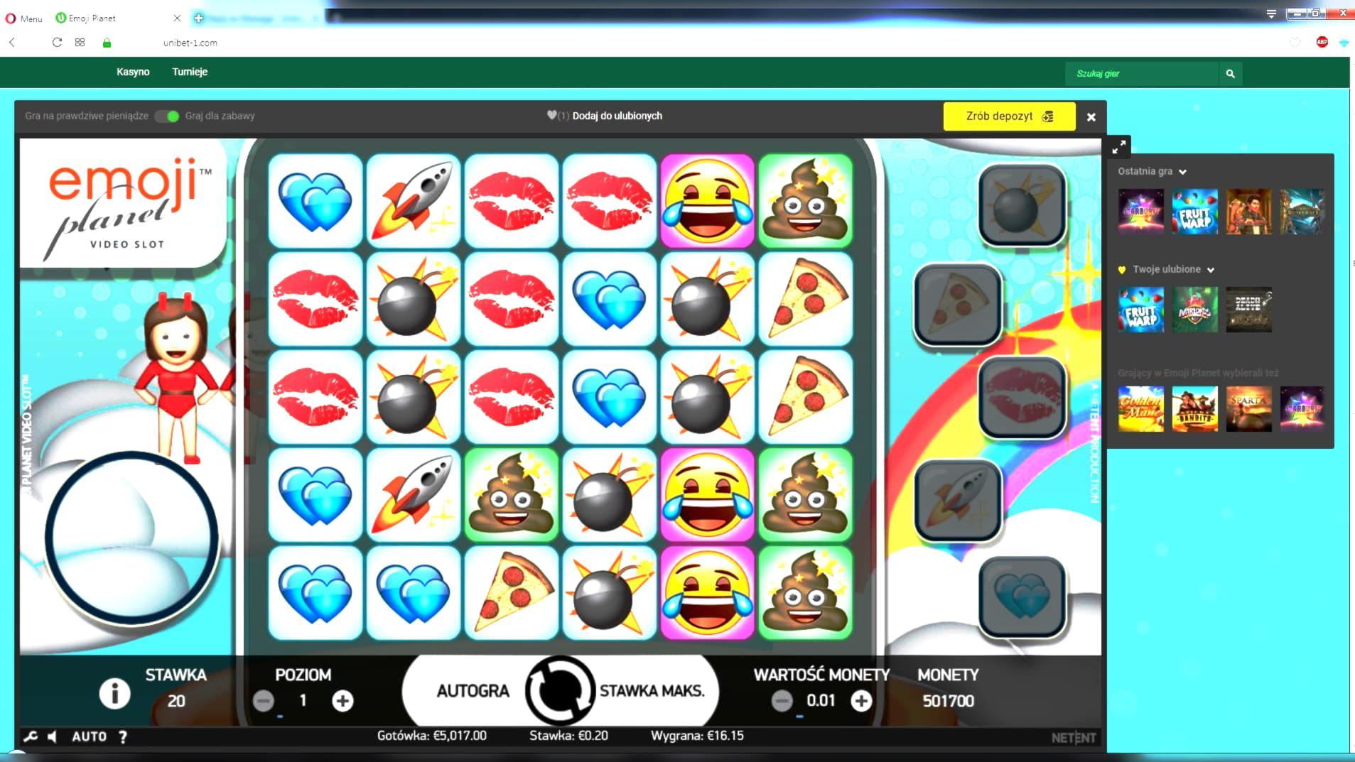 Avatar - American Casino Bonuses