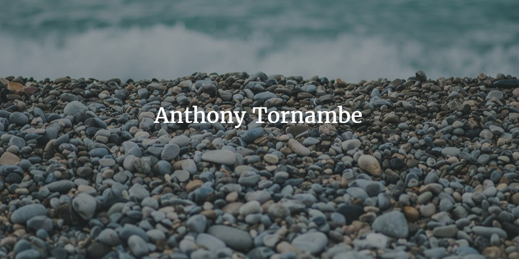 Anthony Tornambe - cover