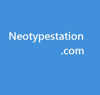 Neotypestation - cover