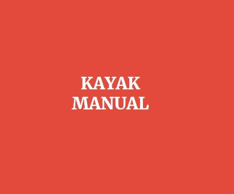 Avatar - Kayak Manual