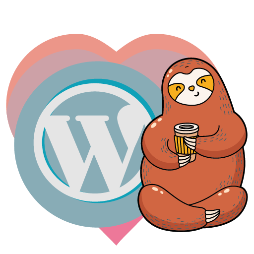 Avatar - Love. Coffee. WordPress.