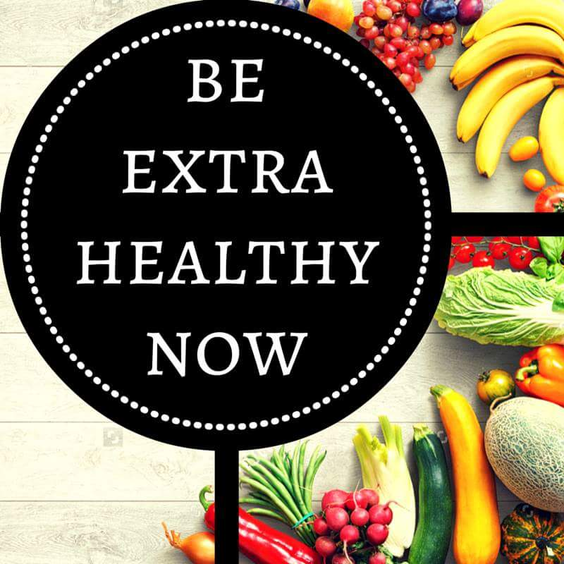 Be Extra Healthy Now - cover