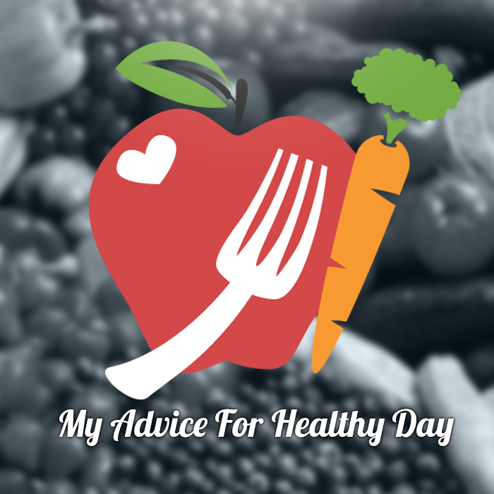 My advice for healthy day  - cover