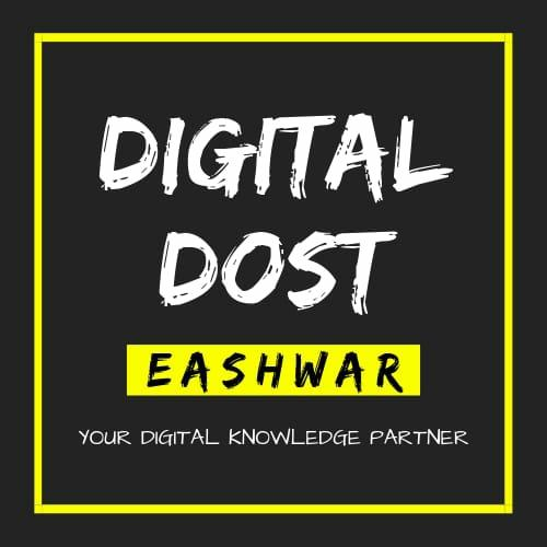 Digital Dost Eashwar - cover