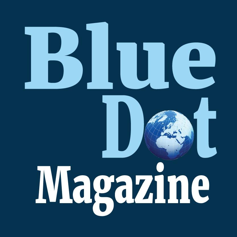 Blue Dot Magazine - cover
