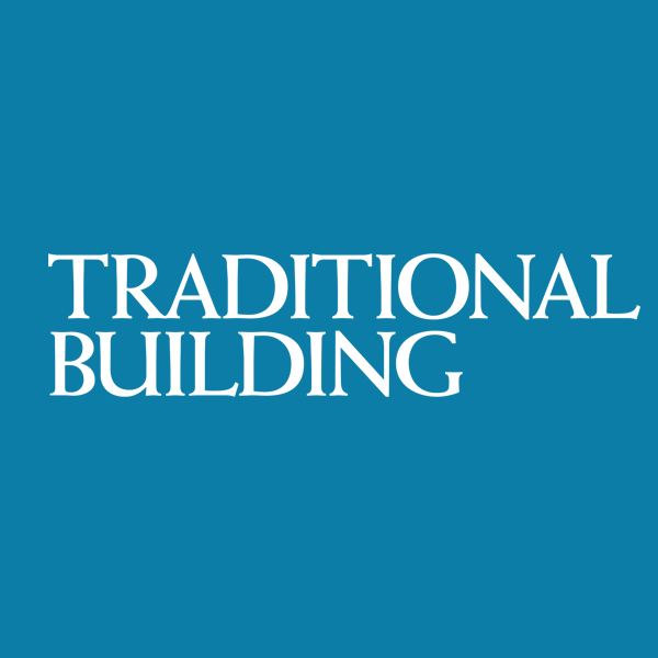 Traditional Building magazine - cover
