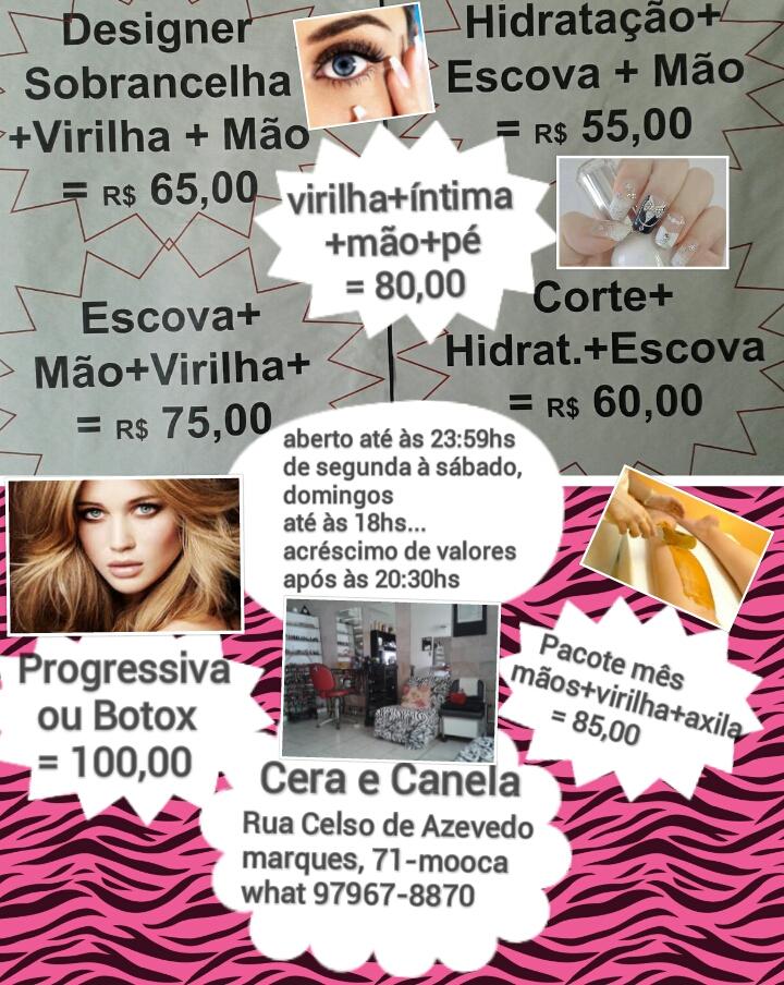 Cera e Canela - Magazine cover