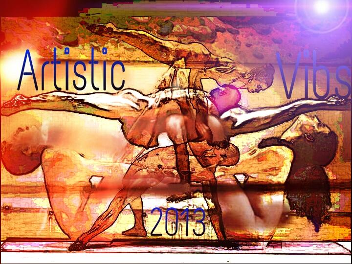 ArtisticEditinVibs - Magazine cover