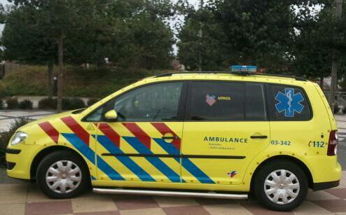 Ambulances In Nederland - Magazine cover