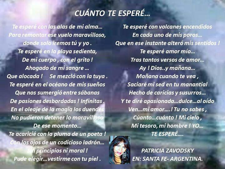 Poesias Patricia Zabodsky - Magazine cover