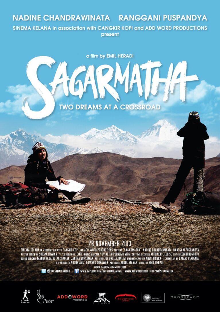 SAGARMATHA a film by Emil Heradi - Magazine cover