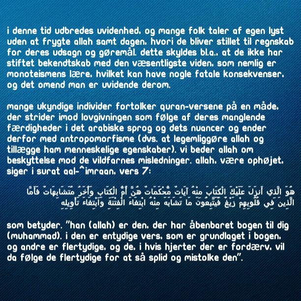 Islam På Dansk - Magazine cover