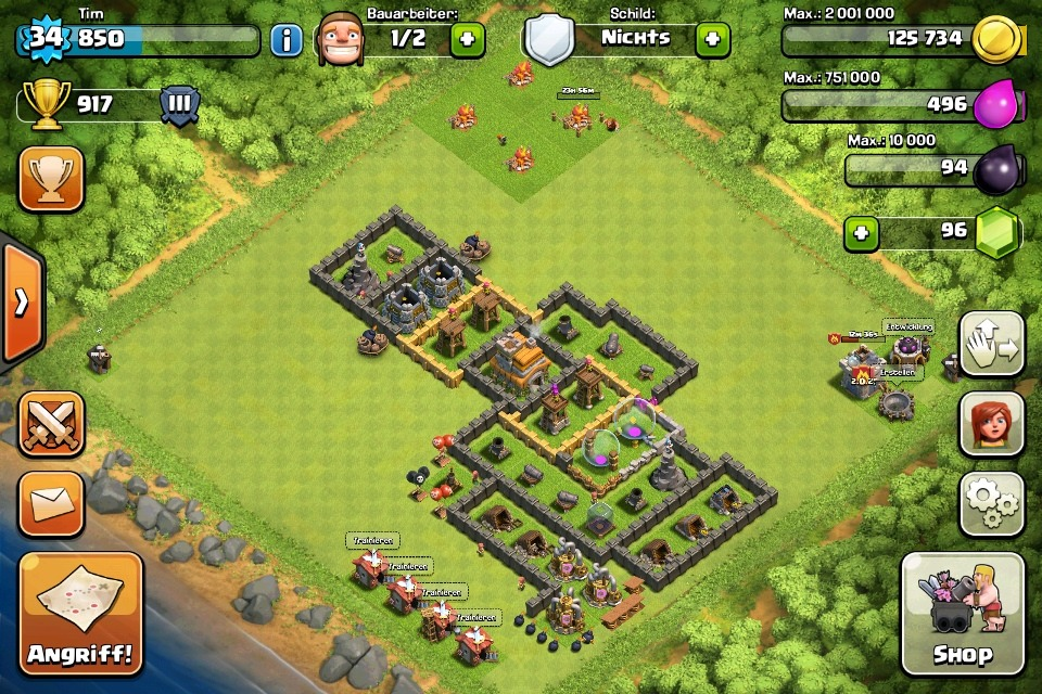 Clash Of Clans News - Magazine cover