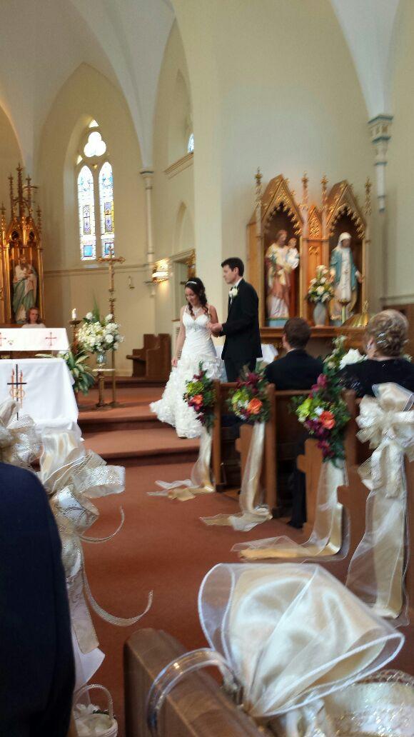 Sara & Travis 21Sept13 Wedding - Magazine cover