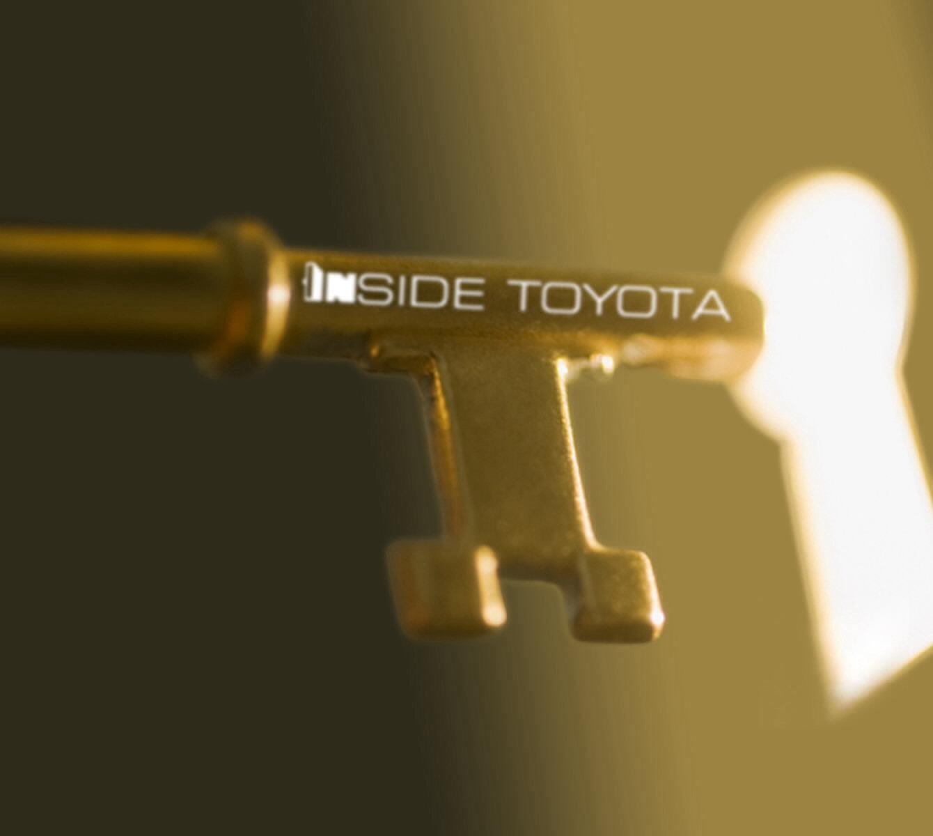 Inside TOYOTA - Magazine cover