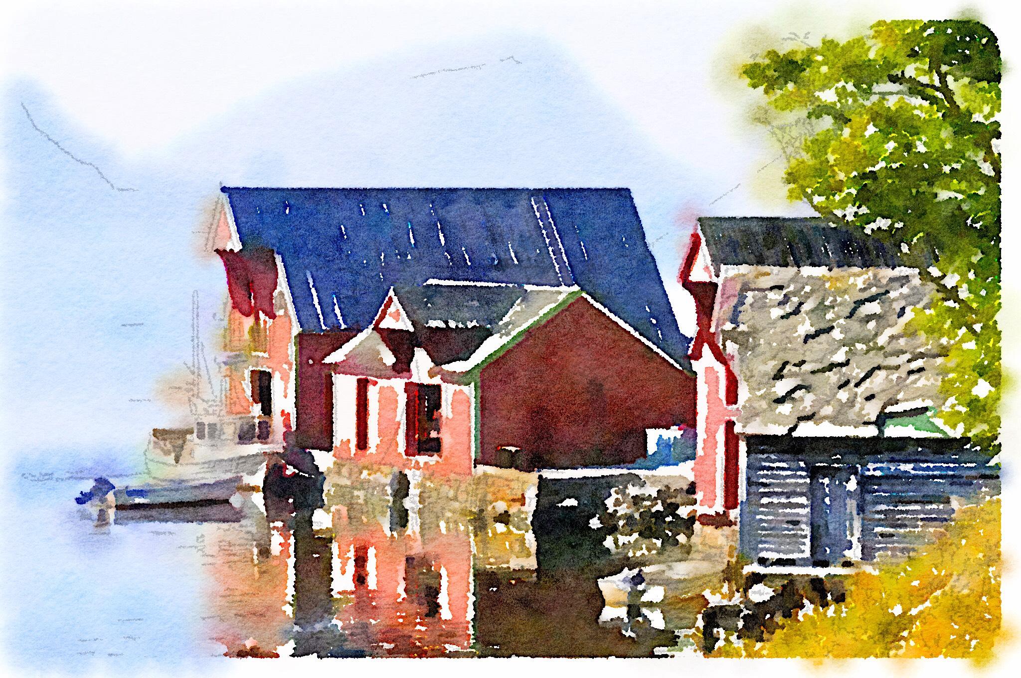 Edin Paintings - Magazine cover