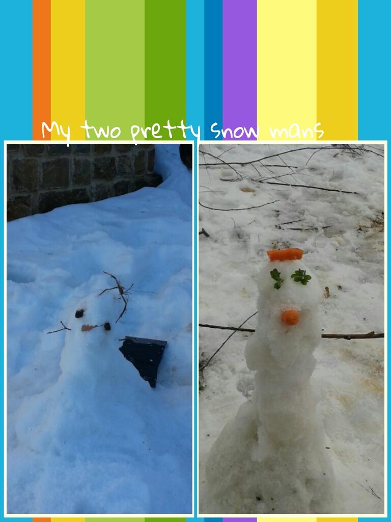 Snow Men - Magazine cover