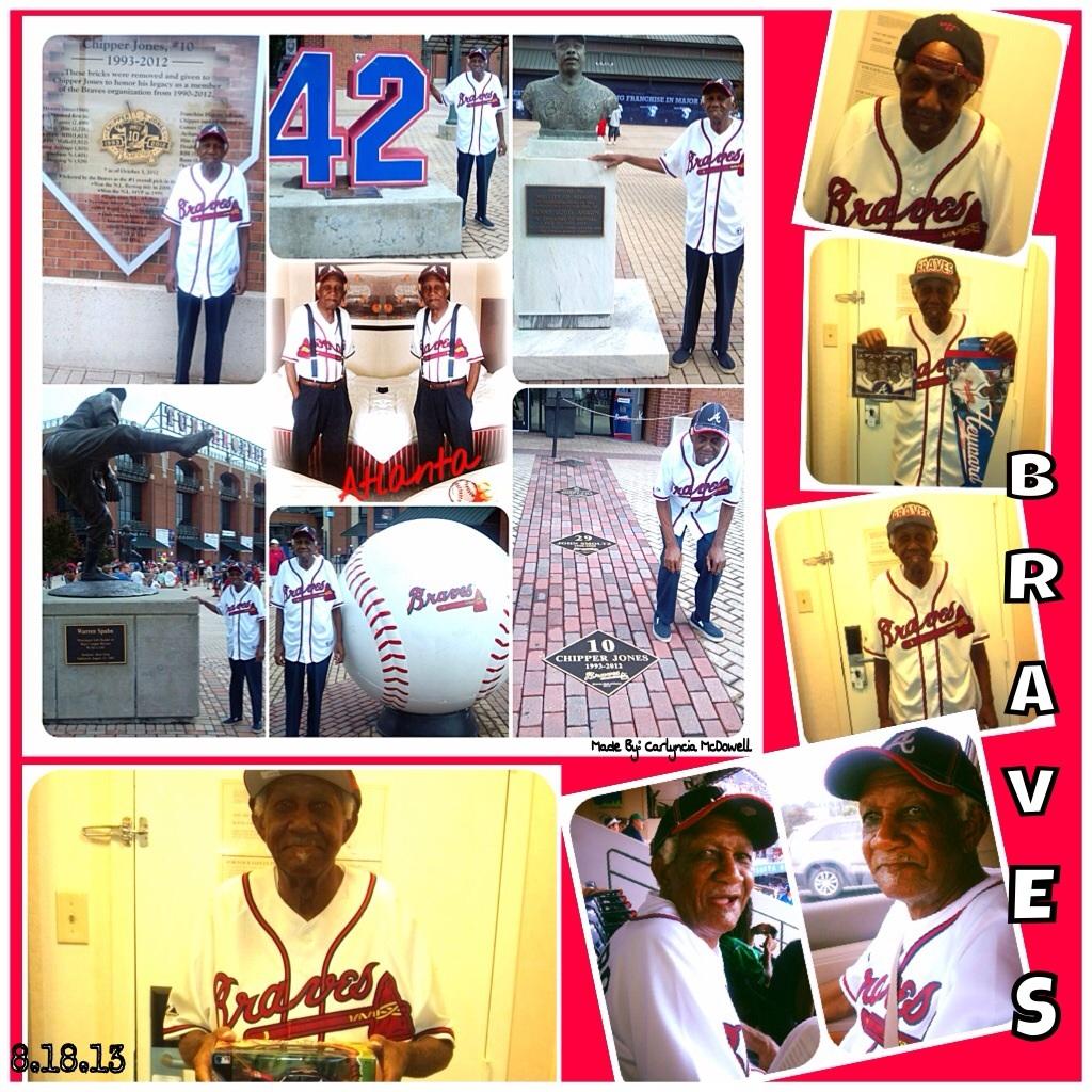 Dads Atlanta Braves Game Trip - Magazine cover