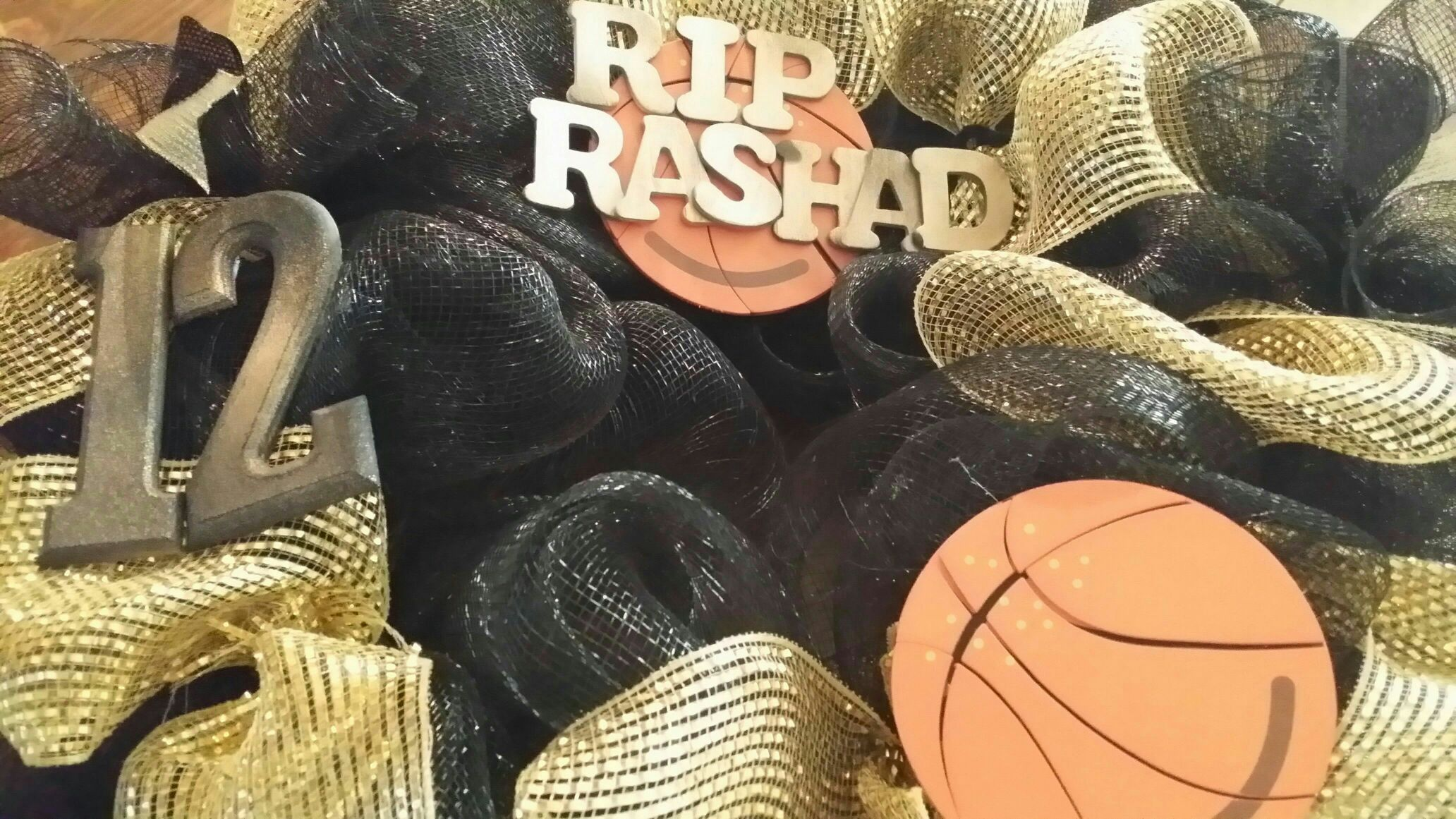 HAPPY  CAKE  DAY  RIP  RASHAD  - Magazine cover