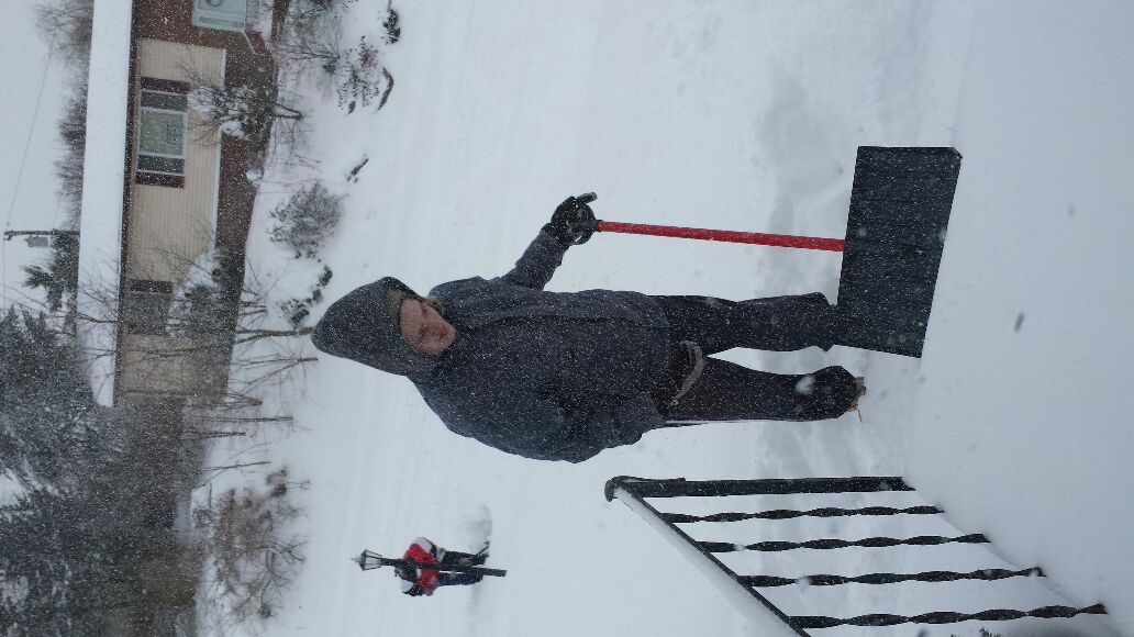 Snow Shovellers - Magazine cover