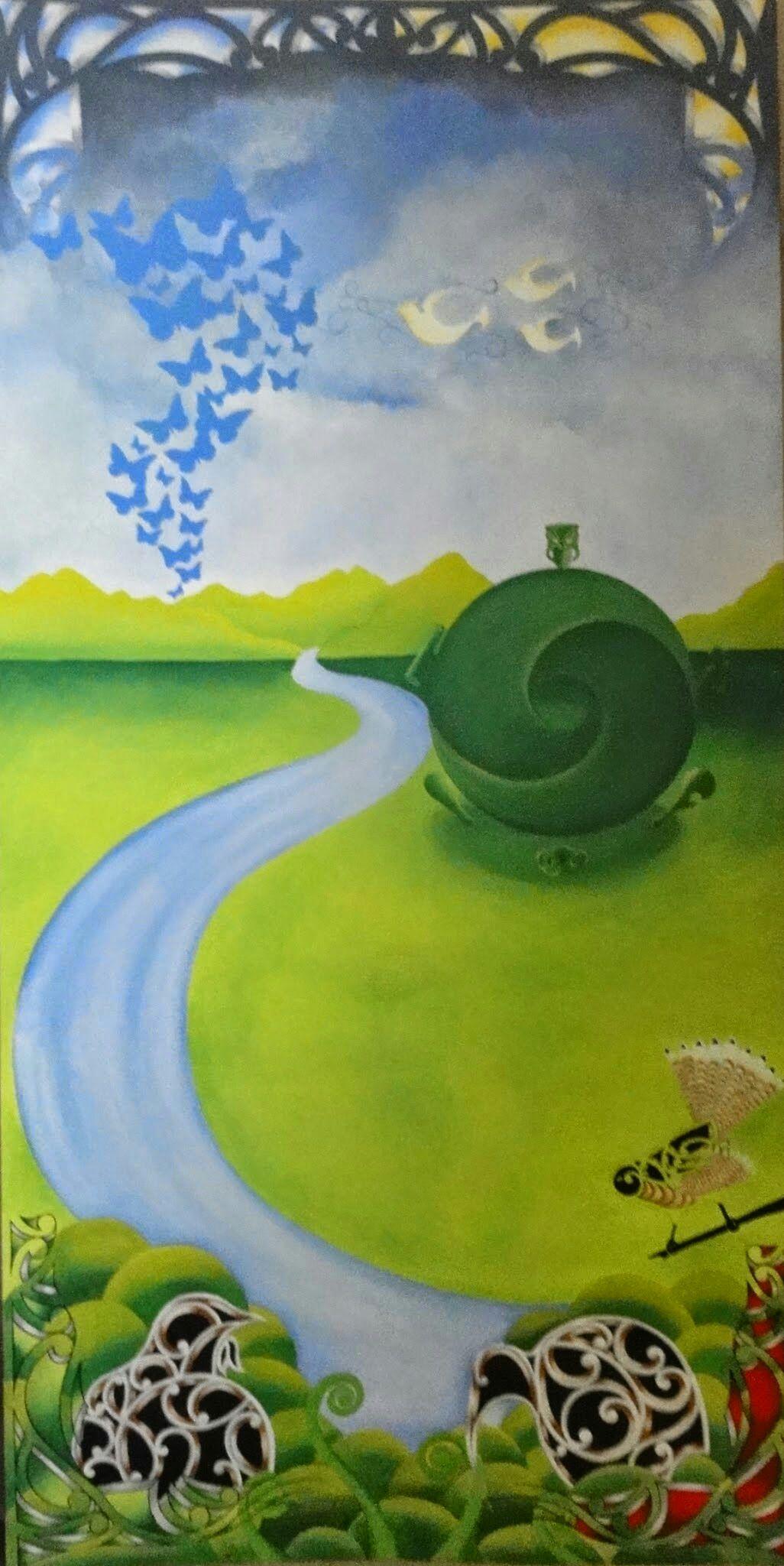 Mural  - Magazine cover