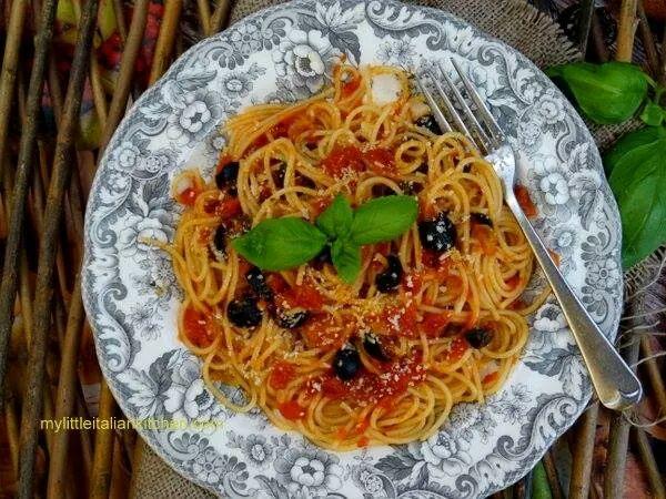 Italian Food - Magazine cover
