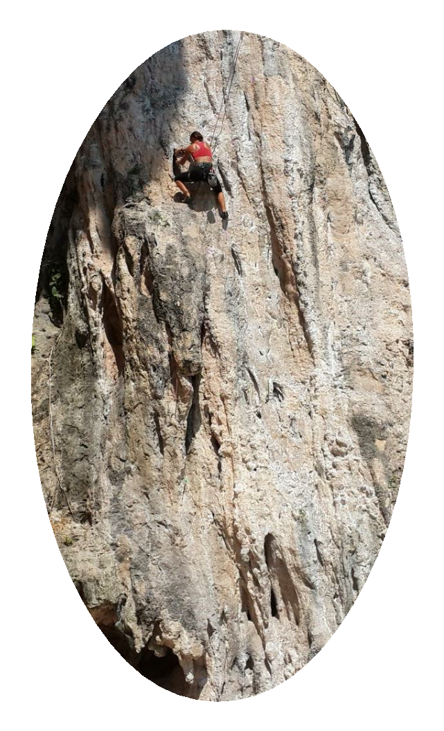 IF CLIMBING is your passion. Krabi is Your Chance To Find The Best Dream Destination.  - Magazine cover