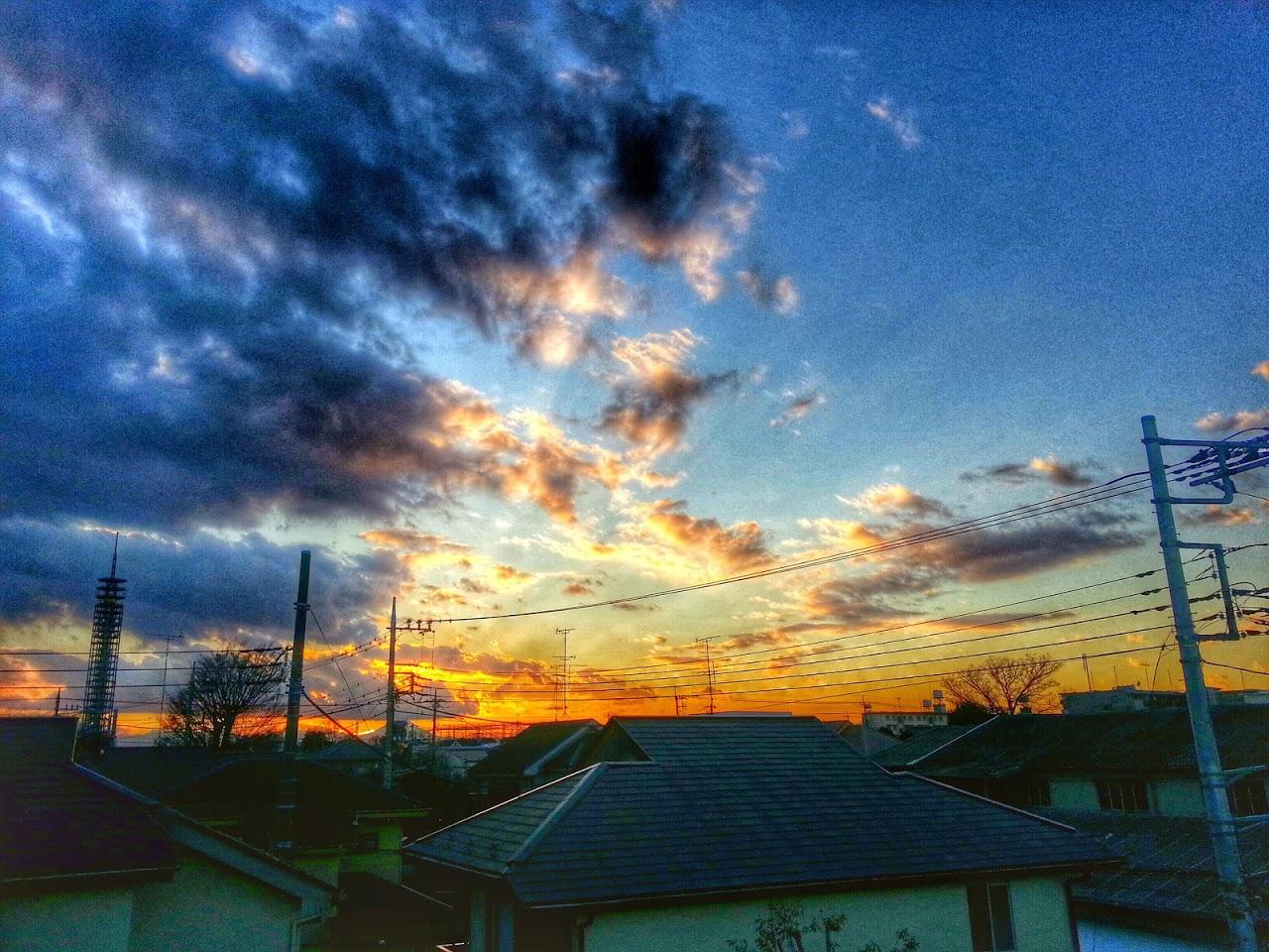 Sunrise,sunsets - Magazine cover