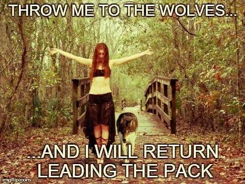 Wolves - Magazine cover