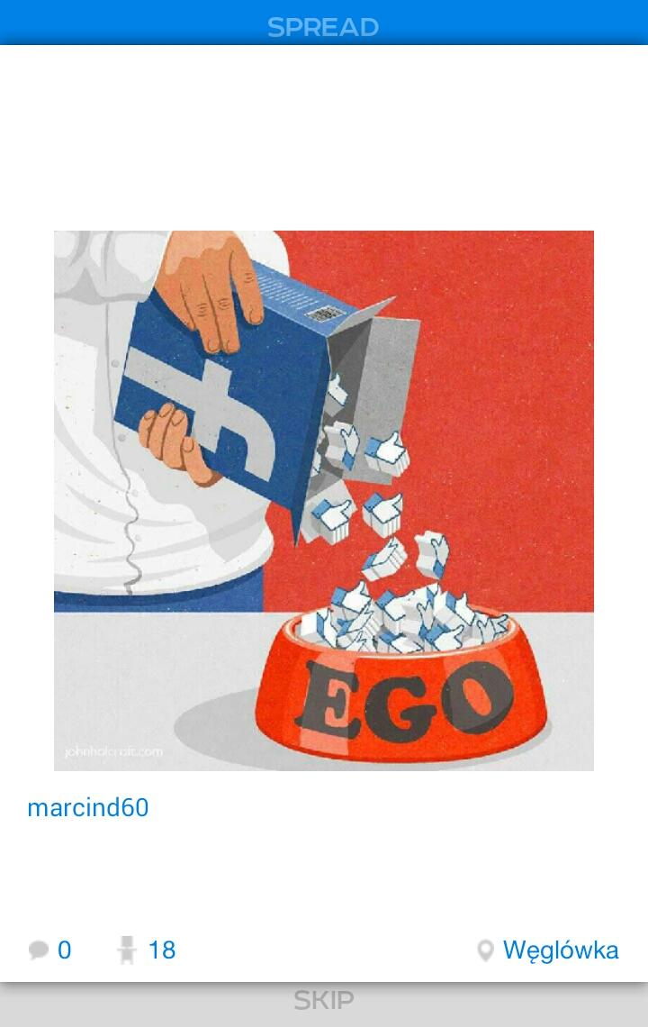 Ego - Magazine cover